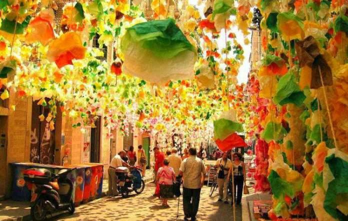 Conhecer o Bairro Gràcia é uma das dicas para quem vai viajar a Barcelona