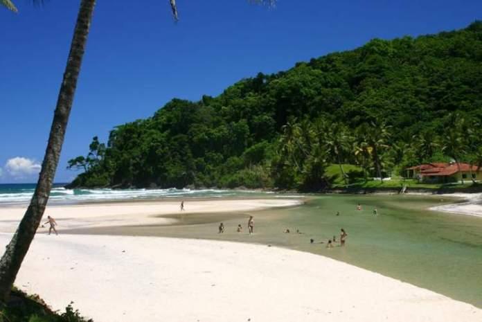 Praia Jeribucaçu é uma das praias mais lindonas da Bahia