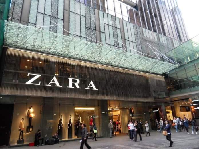 Zara em Madri