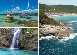 destinos turísticos e baratos no Brasil