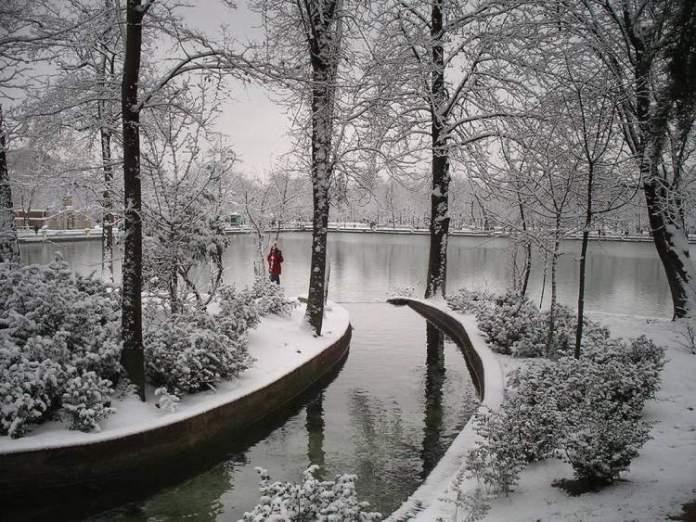 viajar a Madri no inverno