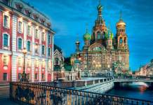 viajar a São Petersburgo