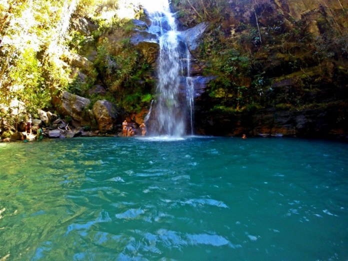 Cachoeira de Santa Bárbara Chapada dos Veadeiros