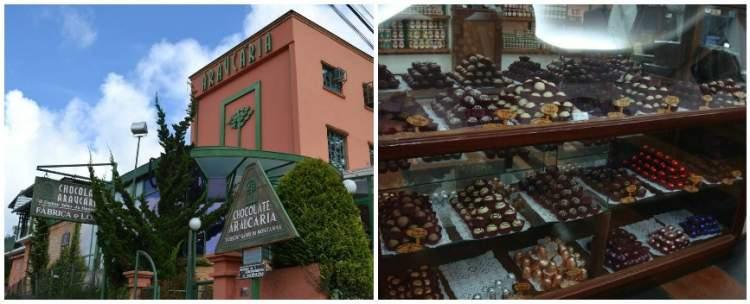 Fábrica de Chocolates Araucária é uma das dicas de o que fazer em Campos do Jordão