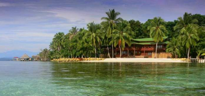 Isla Carenero em Bocas del Toro Panamá