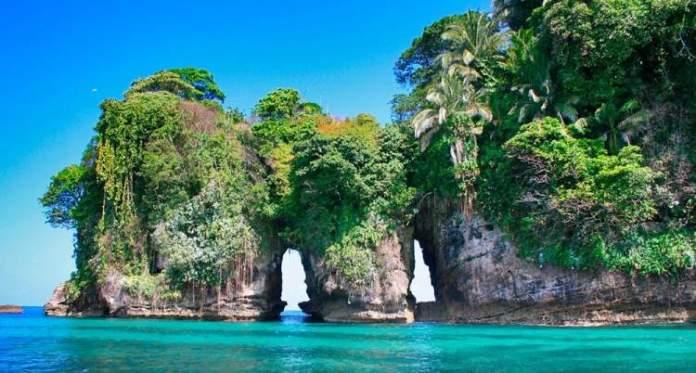 Isla de los Pájaros em Bocas del Toro Panamá