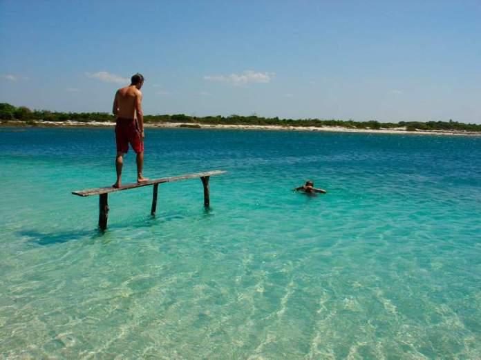 Lagoa Azul em Jericoacoara é um dos Destinos no Brasil com Águas Cristalinas