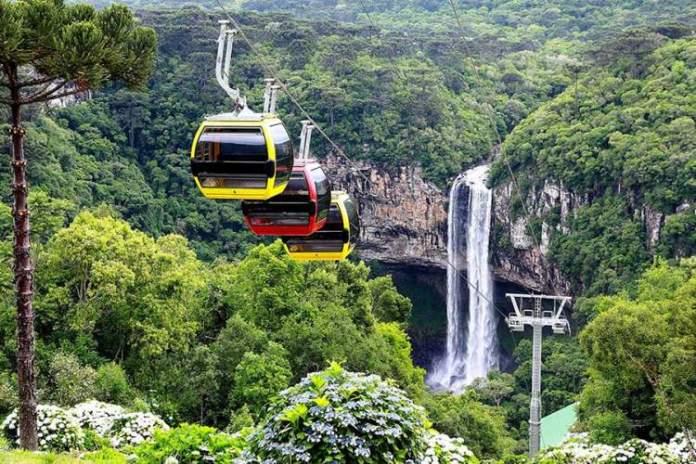 Parque Estadual do Caracol é um dos Passeios na Serra Gaúcha