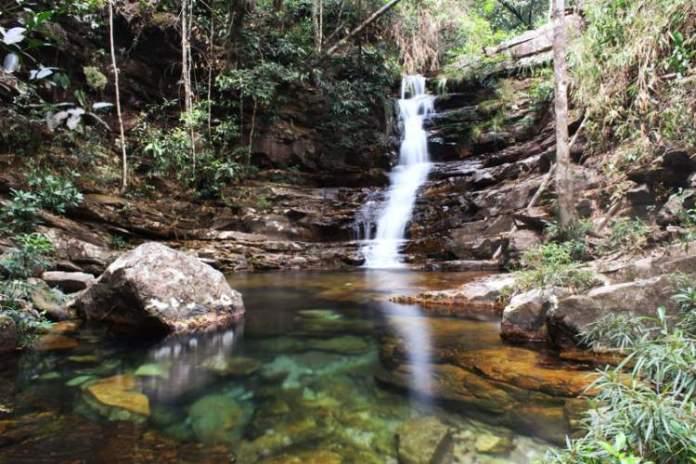cachoeira Loquinhas Chapada dos Veadeiros