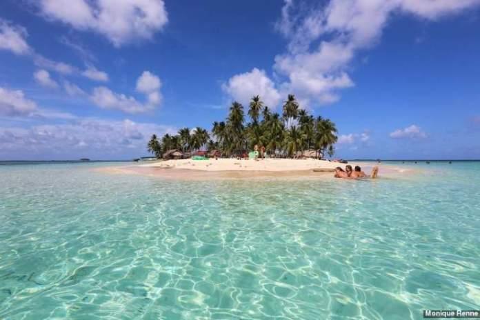 Isla Franklin San Blás no Panamá