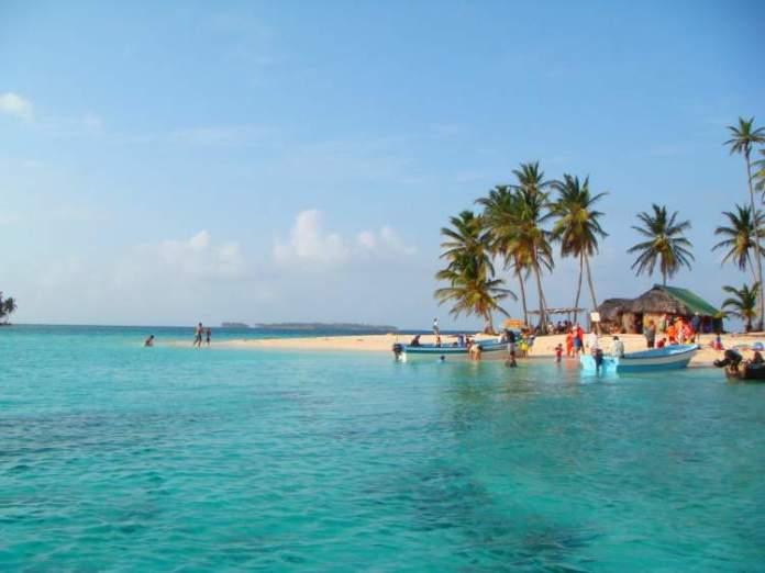 Isla Perro San Blás no Panamá