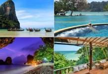 Railay Beach na Tailândia
