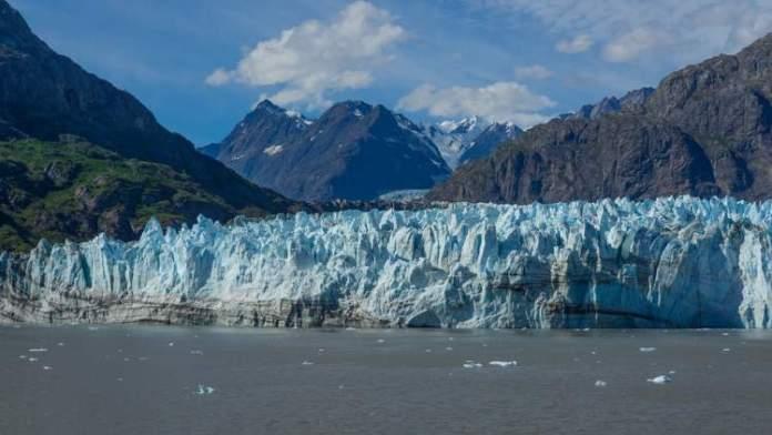 Rio Glacial no Alasca