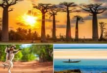 ilha de Madagascar na África