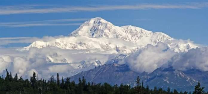 monte McKinley no Alasca