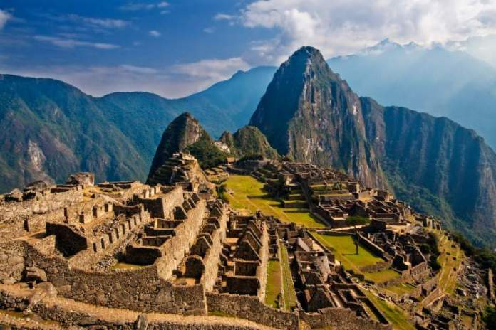 Machu Picchu é um dos países para viajar sem visto