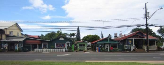 Centro comercial Hanalei Kauai Havaí