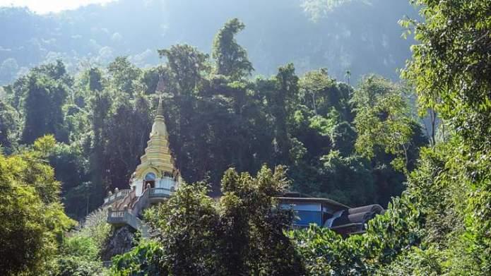 Chiang Dao Tailândia é um dos lugares deslumbrantes na Ásia