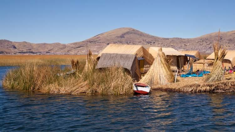 Melhor época para ir ao Peru Lago Titicaca