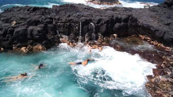 Piscina da morte Kauai Havaí