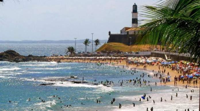 Praia do Farol é uma das melhores praias de Fortaleza