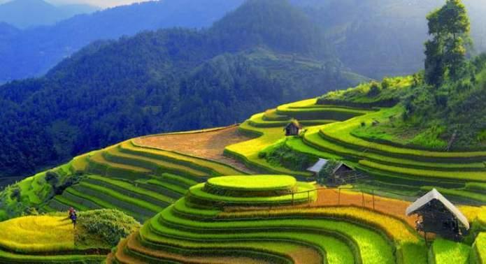 Sapa no Vietnã é um dos lugares deslumbrantes na Ásia