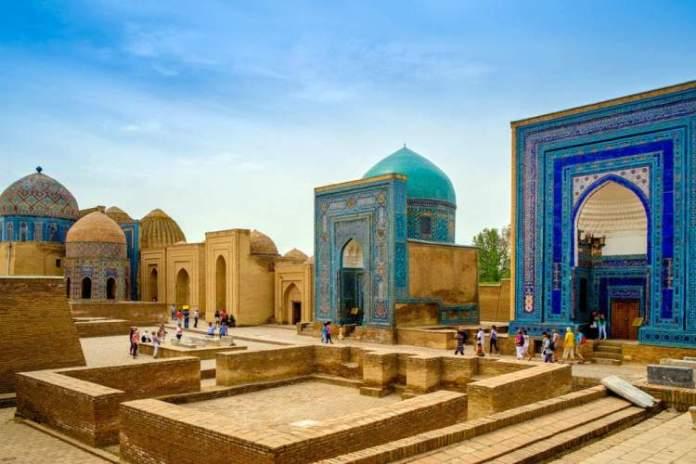 Uzbequistão é um dos lugares deslumbrantes na Ásia