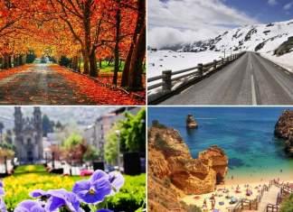 melhor época para ir a Portugal