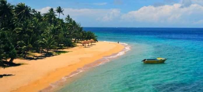 Cove Beach em Fiji