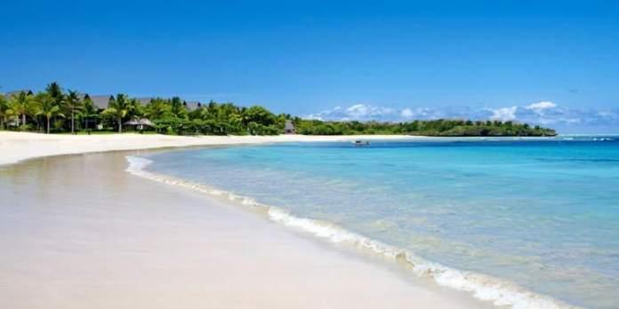 Natadola Beach em Fiji