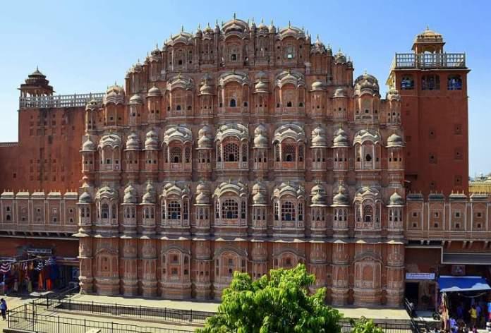 Palácio Central de Jaipur na Índia