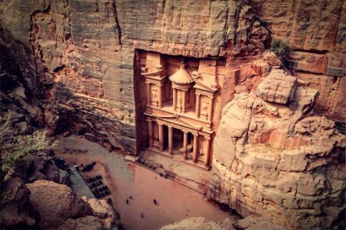 Petra na Jordânia é um dos lugares mais lindos do mundo
