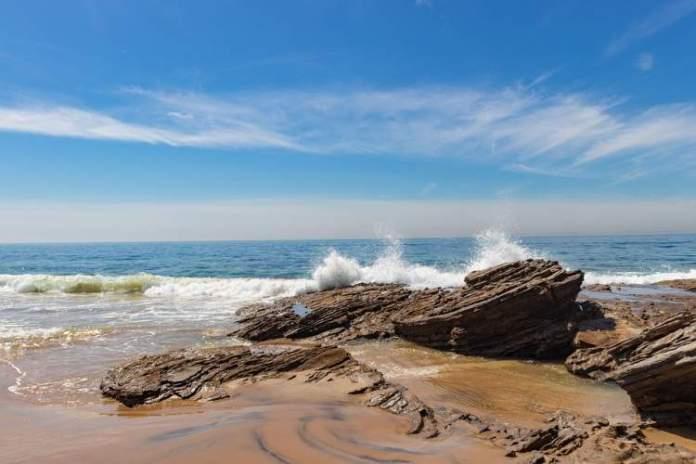 Praia Crystal Cove State Park é uma das melhores praias da Califórnia