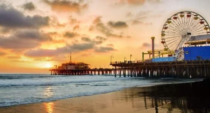 Santa Mônica é uma das melhores praias da Califórnia