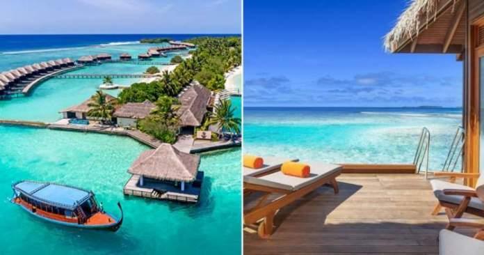 Sheraton Maldives Full Moon Resort & Spa é um dos melhores hotéis nas Maldivas
