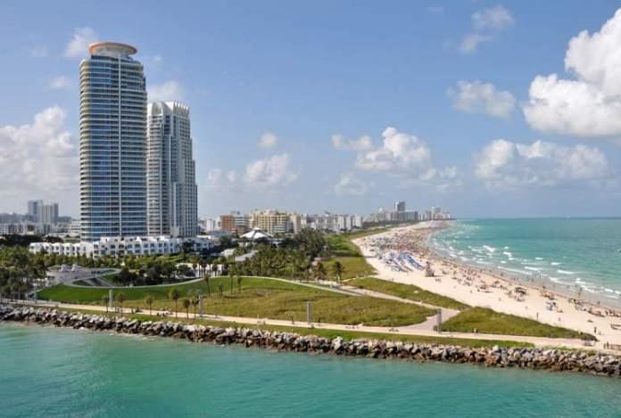 South Beach é uma das melhores praias de Miami