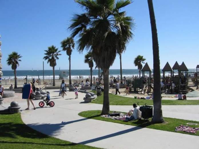 Venice Beach é uma das melhores praias da Califórnia