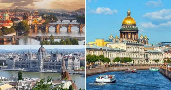Europa é um dos lugares para visitar antes ou depois das Ilhas Maldivas