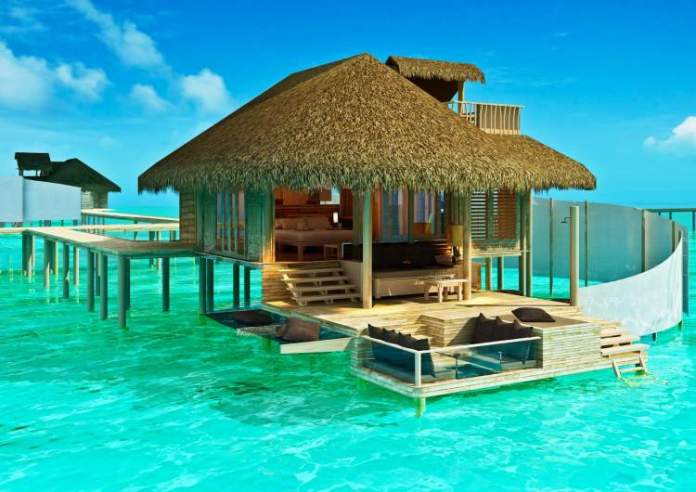 fazer uma viagem econômica para as ilhas Maldivas hospedagem