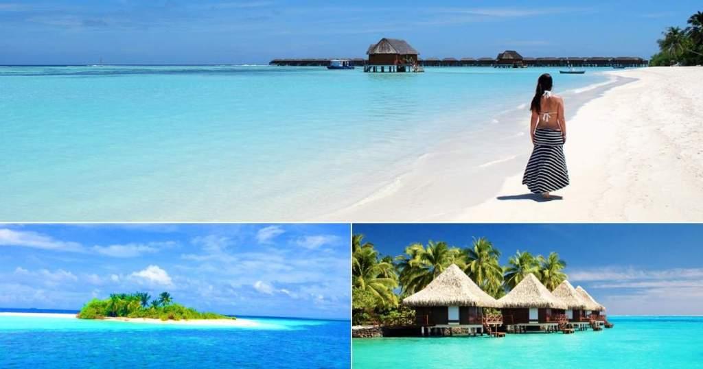 viagem econômica para as ilhas Maldivas