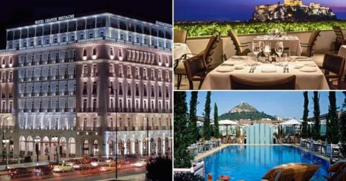 Grande Bretagne é um dos melhores hotéis na Grécia