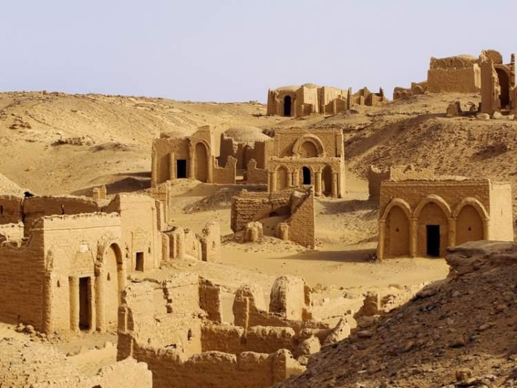 Oásis de Kharga no Egito