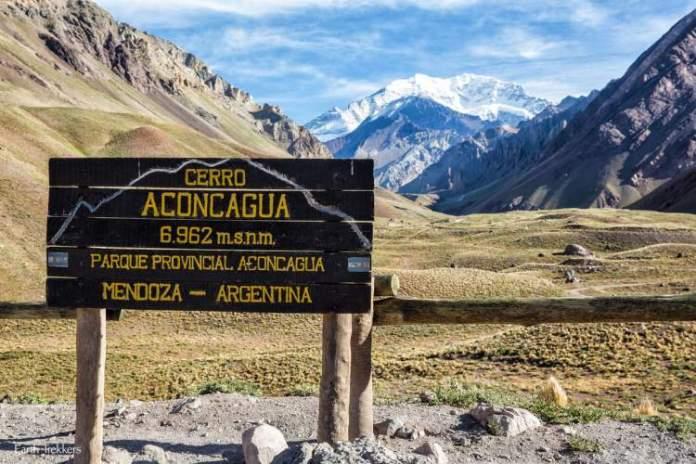 Parque Aconcágua em Mendoza na Argentina