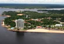 Manaus, vista aérea