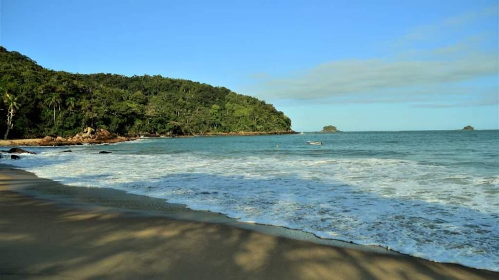 Cedro do Sul é uma das praias desertas em Ubatuba - São Paulo