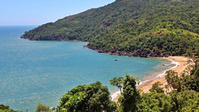 Praia do Jabaquara em Ilhabela - São Paulo