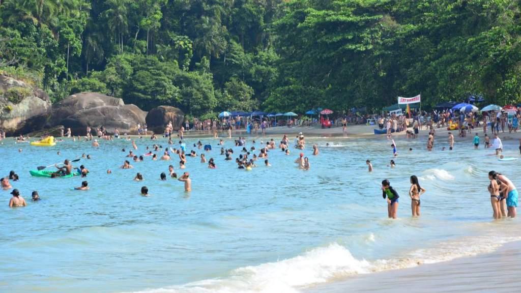 Praia do Félix em Ubatuba - São Paulo