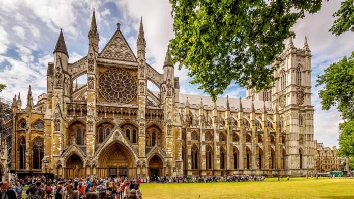 Abadia de Westminster em Londres - Ingalterra