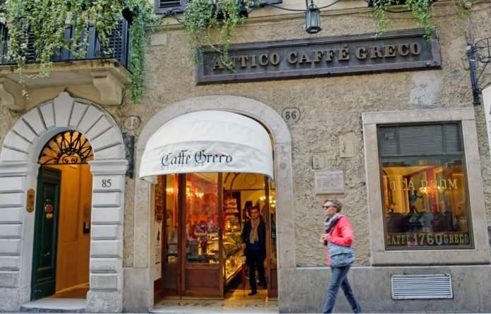 Antico Caffé Greco em Roma - Itália