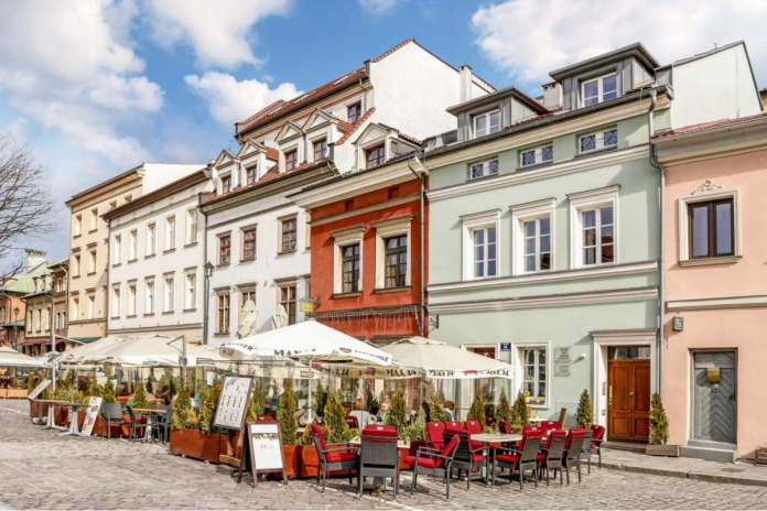 Kazimierz, antigo bairro judeu de Cracóvia